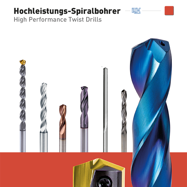 Hochleistungs-Spiralbohrer